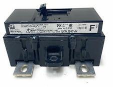 Square D Qom2200vh Circuit Breaker200a 2 Pole 240v Ac