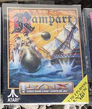 Rampart  Lynx Atari Collectors!! Rare New In Box