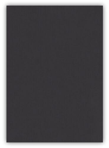 100 Blatt farbiges Premium Briefpapier Caribic DIN A5 Papier-Farbe Schwarz