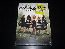 Pretty Little Liars: The Complete Sixth Season (DVD, 2016, 5-Disc Set) New