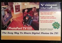 Visioneer Photoport Tv 100 - Easy Way To Share Digital Photos On Tv No Pc Needed
