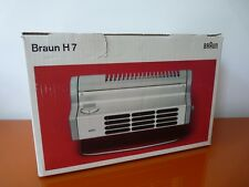 Braun Design H7 Heizlüfter Lüfter H 7 Thermolüfter Rams/ Weiss OVP sehr guter Zu