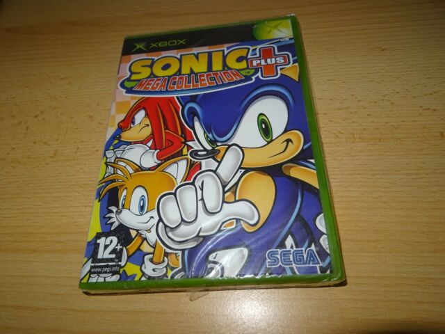 Sonic Mega Collection xbox pal version  NEW FACTORY SEALED