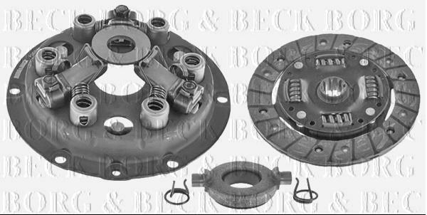Brand New Reliant Morris  Borg & Beck  3 in 1  Clutch Kit  1938 Onwards - HK9704