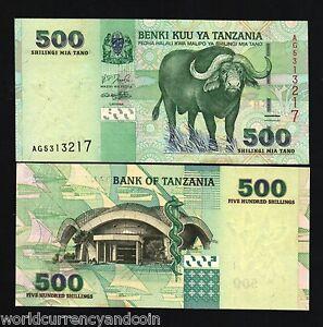 Tanzania 2003 500 Shillings Banknote UNC