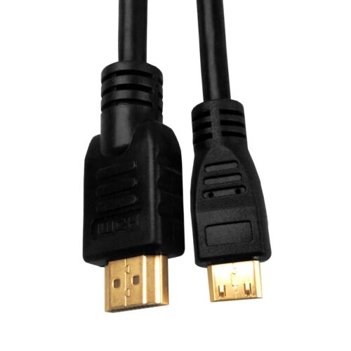 Ethernet FULL 4K HD 3D TV MINI HDMI Cable to HDMI v1.4 High Speed