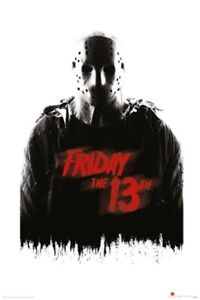 Friday-The-13th-Jason-Voorhees-POSTER-61x91cm-NEW