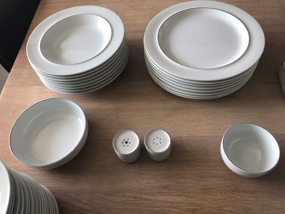 Porcelæn, Kopper,tallerkner, fade
