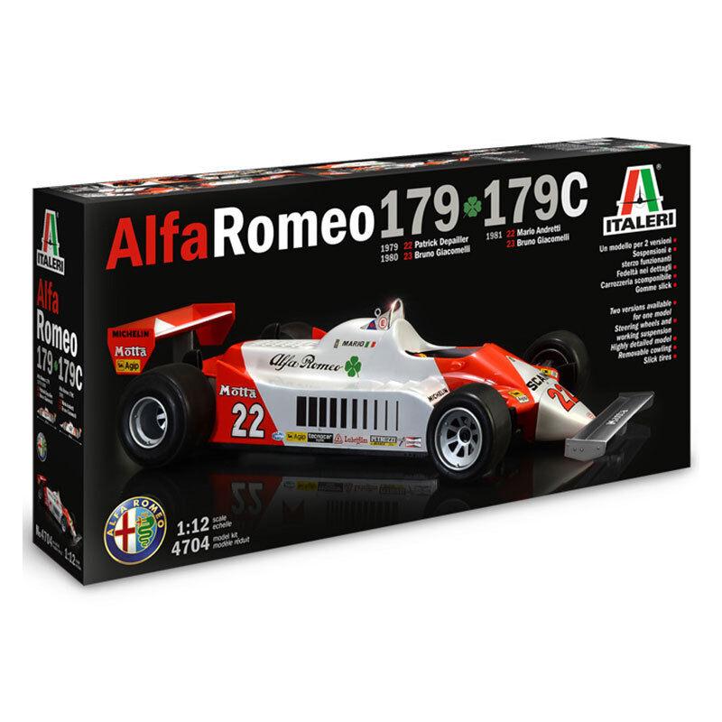 Italeri Alfa Romeo 179/179C kit modelo de coche F1 4704 112