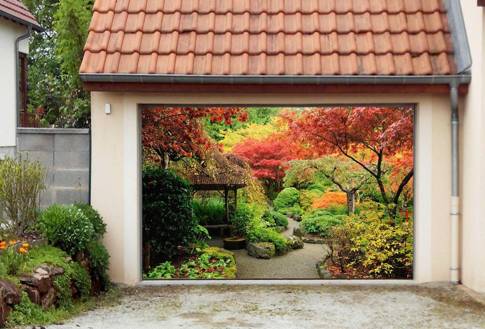 3D Autumn Leaves8 Garage Door Murals Wall Print Decal Wall AJ WALLPAPER AU Carly