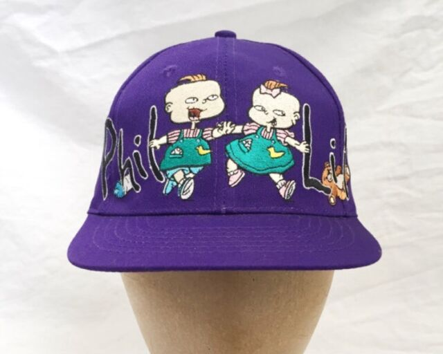new arrival f42a4 6d362 ... good vintage rugrats phil lil nickelodeon snapback hat youth osfa  deadstock nwt 90s dddd4 1d61e