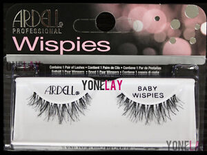 be07b4bd810 Lot 10 Pairs GENUINE ARDELL Baby Wispies Black False Eyelashes Wispy ...