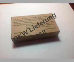Reproduction D Ration Box Ebay