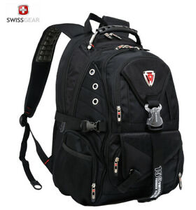 SwissGear-High-duty-Men-039-s-Versatile-Macbook-Laptop-Backpack-Hiking-bag-Schoolbag