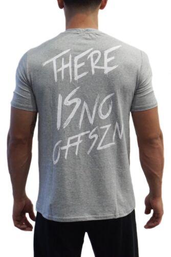 "TF /""No Off Szn/"" Script Tee Grey Alphalete, Tino Fit Wear"