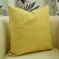 Benfan Decorative Pillow Covers Yellow Pillowcase Sofa Throw Living Room Bedroom