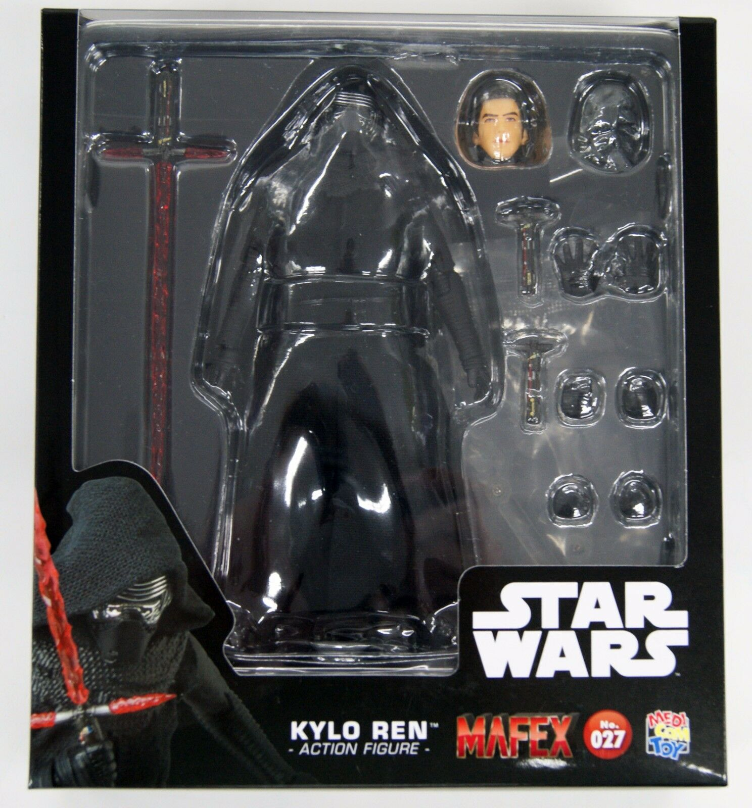 Medicom MAFEX 027 Star Wars The Force Awakens Kylo Ren Figure