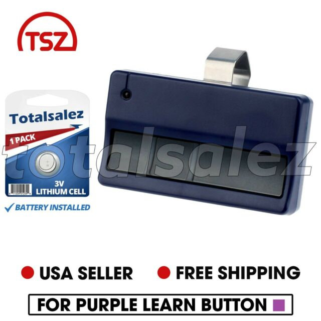 2 For Linear Delta 3 Dt 2a Garage Door Two Button Remote Dnt00017a