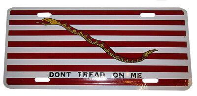 1st Marine Jack Gadsden Don't Tread On Me 15.2cmx30.5cm Aluminium Nummernschild Angenehm Bis Zum Gaumen Automobilia