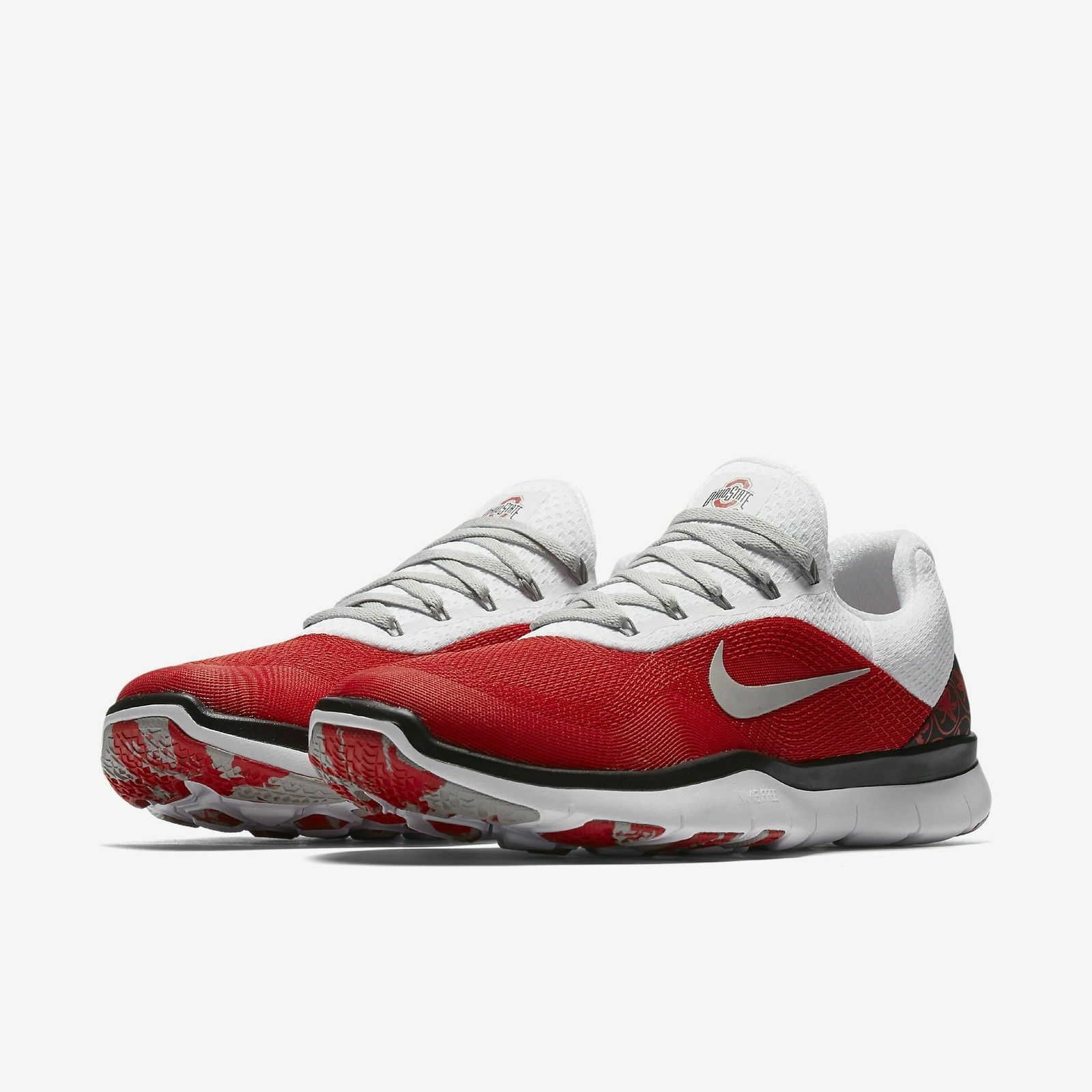 Ohio State Buckeyes Nike Free Trainer V7 shoes Men's 14