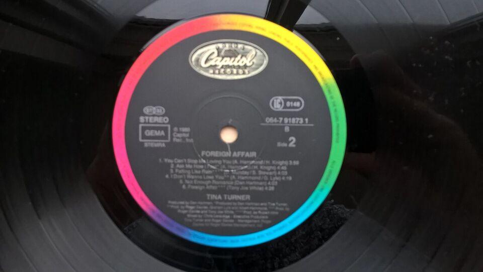 LP, Tina Turner, Foreign Affair