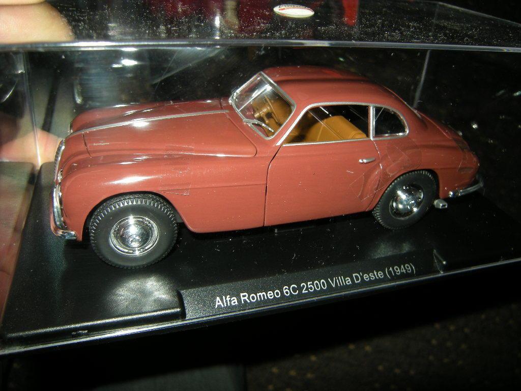 1 24 Leo Alfa Romeo 6C 2500 Villa D'este 1949 VP