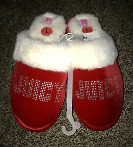 """e2f9b67fabe NWT very cute JUICY COUTURE """"Gabi Crystal"""" women slippers w  BLING ..."""