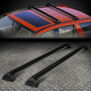 For 02 07 Saturn Vue Oe Style Aluminum Roof Rack Rail Cross Bar Luggage Carrier Ebay