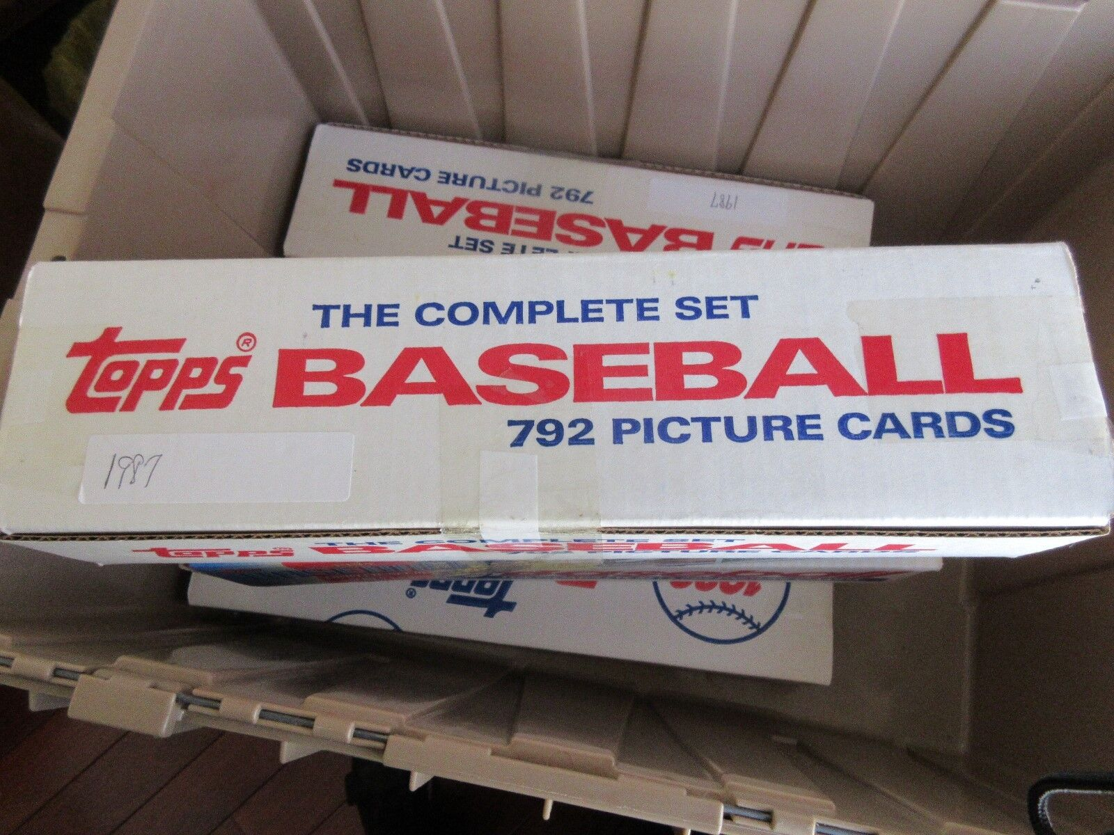 1987 , Topps Baseball , The Complete Set , 792 Picture