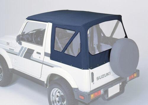 Suzuki samurai SJ 410 413 sustitución capota negro descapotable convertible piel top Plane