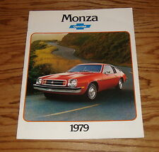 Original 1979 Chevrolet Monza Sales Brochure 79 Chevy