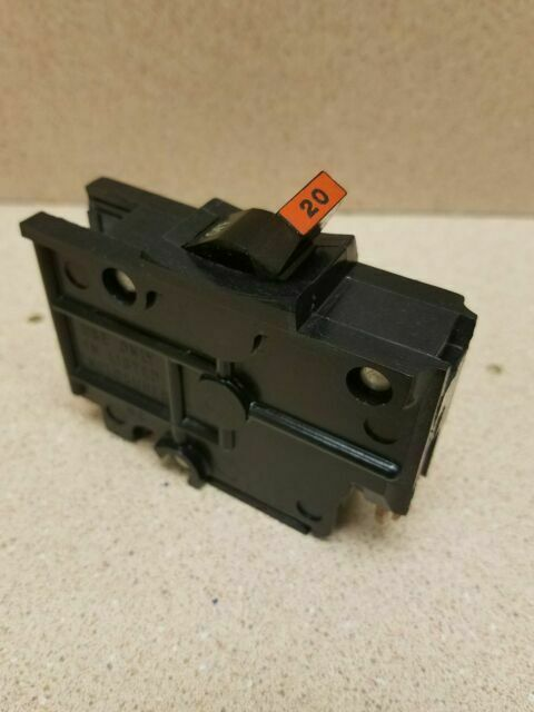 *NEW* FEDERAL PACIFIC 1 POLE 20A 120 VOLT 1 POLE TYPE NA CIRCUIT BREAKER