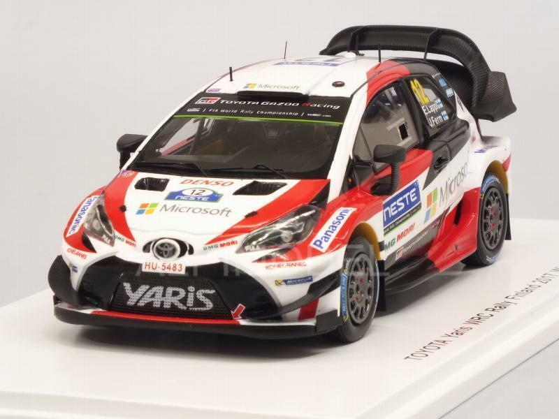 Toyota Yaris WRC Winner Rally Finland 2017 Lappi - Ferm 1 43 SPARK S5169