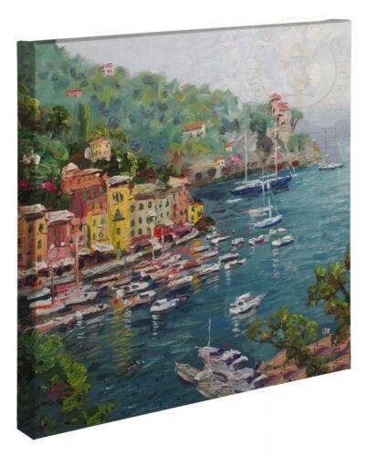 Thomas Kinkade Portofino 20 x 20 Gallery Wrapped Canvas
