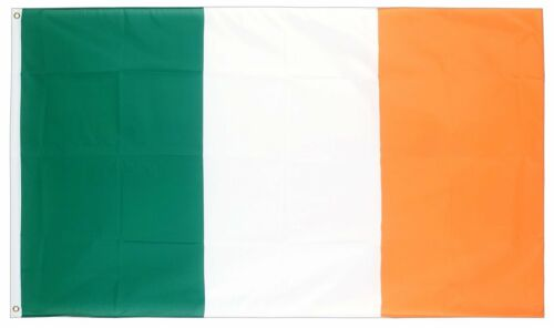 Two 2 x Irish Flag St Patricks Day Party Decoration Ireland 70 x 50cm Flags 261