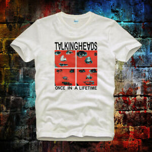 Talking-Heads-One-In-A-Life-Time-Punk-Rock-Vintage-Hipster-Unisex-T-Shirt-382b