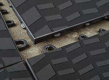 """Sport Tread Garage Floor Tile by MotorMat 12""""x12"""" x 1/2"""" 40 Pack"""