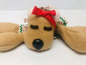 Rhonda-Reindeer-Plush-Hallmark-1980s-Toy-Christmas-Holiday-Decor-Stuffed-Animal