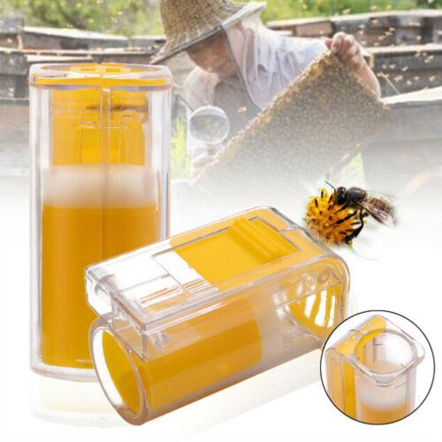One handed queen bee catcher clip beekeeper tool beekeeping equipment cage cupFY