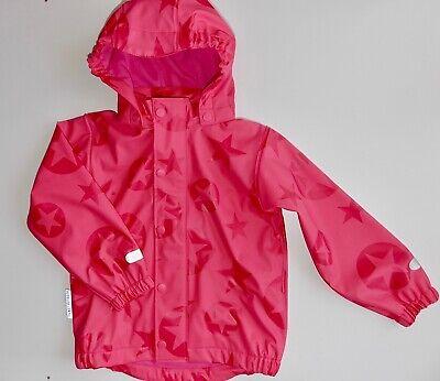Kinder Mädchen Regenanzug Jacke und Hose 2 Teilig