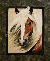Mistral Horse Toni Whitney Designs Applique Quilt Pattern + Fabric Kit