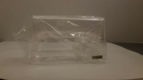 set Of 9 Plastic Business Card Holder Stand Clear 9