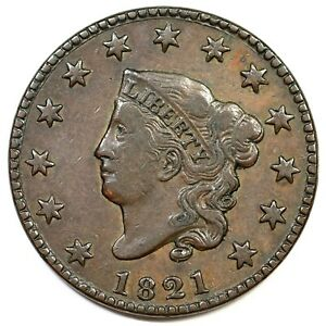 1821-N-2-Matron-or-Coronet-Head-Large-Cent-Coin-1c
