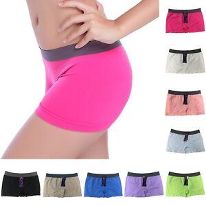 New Summer Sports Shorts Pants Workout Gym Skinny Waistband Shorts Yoga Women