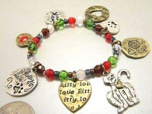 Cat-Worship-Beaded-Stretch-Bracelet