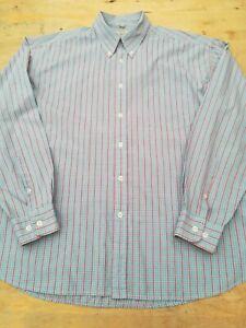 Para-Hombre-Ben-Sherman-Camisa-XL-Pecho-48-034-tamano-4-bolsillo-en-el-pecho-Mangas-Largas-Boton-Dow
