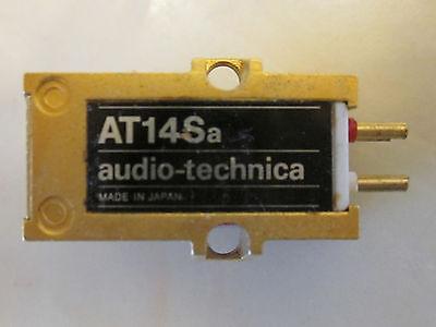 AUDIO TECHNICA AT14SA CARTRIDGE AND GENUINE ATN-14 SHIBATA CD4 QUAD STYLUS