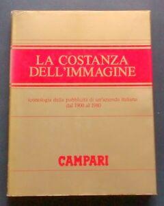 Pubblicità - Fagone e Luso - Campari - La costanza dell'immagine - 1^ ed. 1980