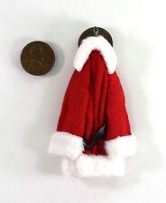 Dollhouse Miniature Artisan Santa/'s Coat on a Hook #728