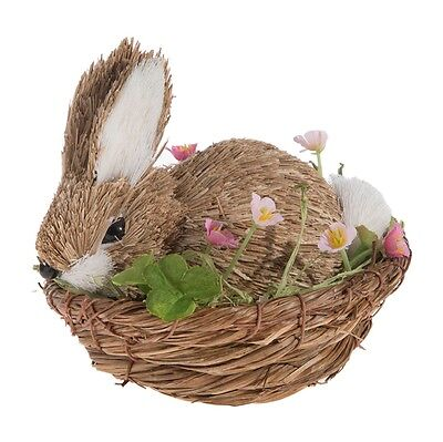 NEW!~RAZ Imports~Basket of Colorful Speckled Easter Egg~tree//wreath//bunny rabbit